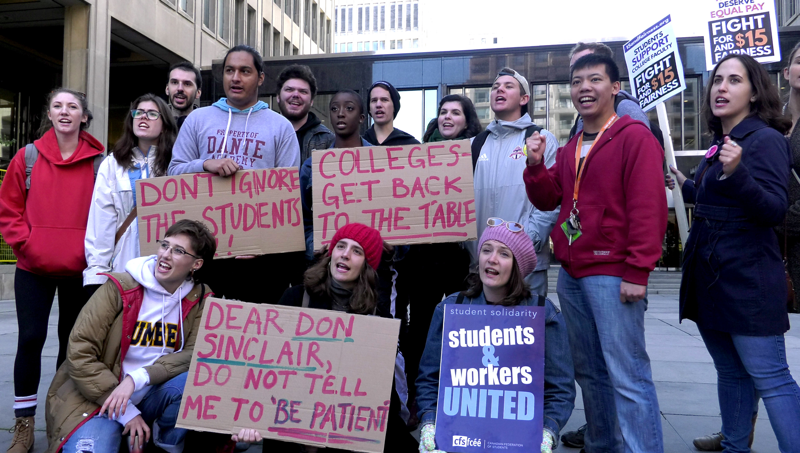 students-support-strike